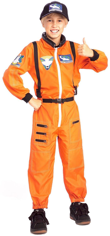 Astronaut Child Boys Girls Space Suit Costume Fancy Dress ...