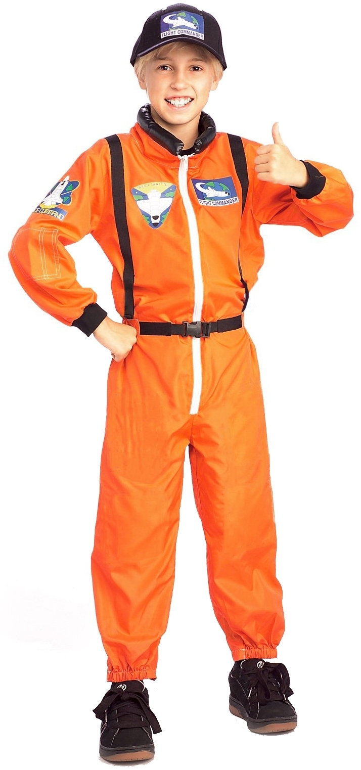 astronaut child boys girls space suit costume fancy dress outfit