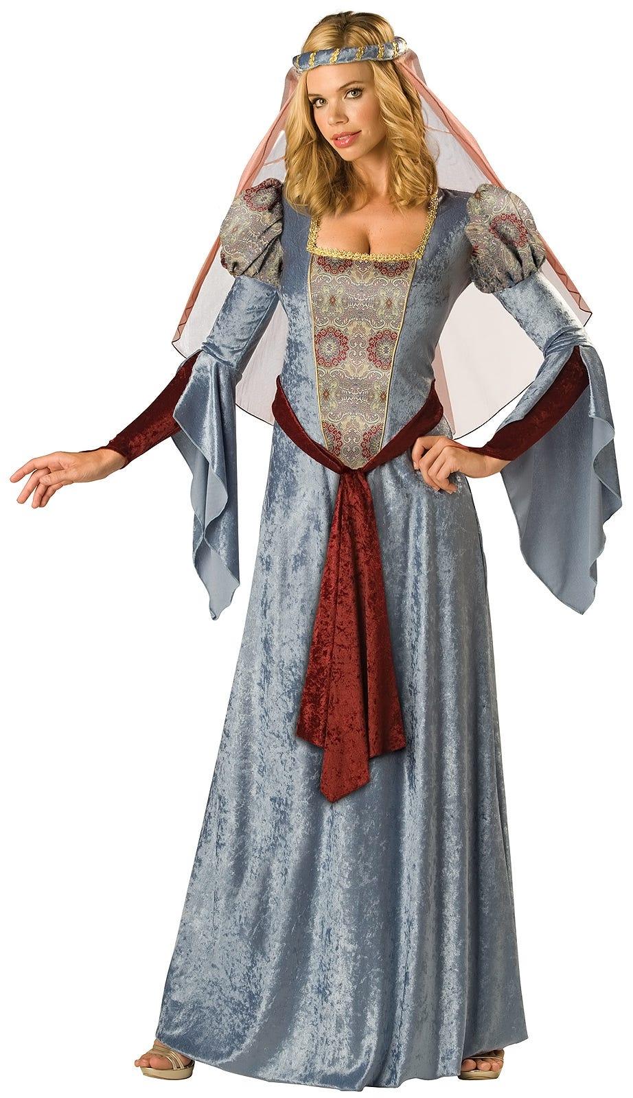 015ca36cfd6e Robin Hood Maid Marian Adult Women Renaissance Medieval Costume Fancy Dress  Up