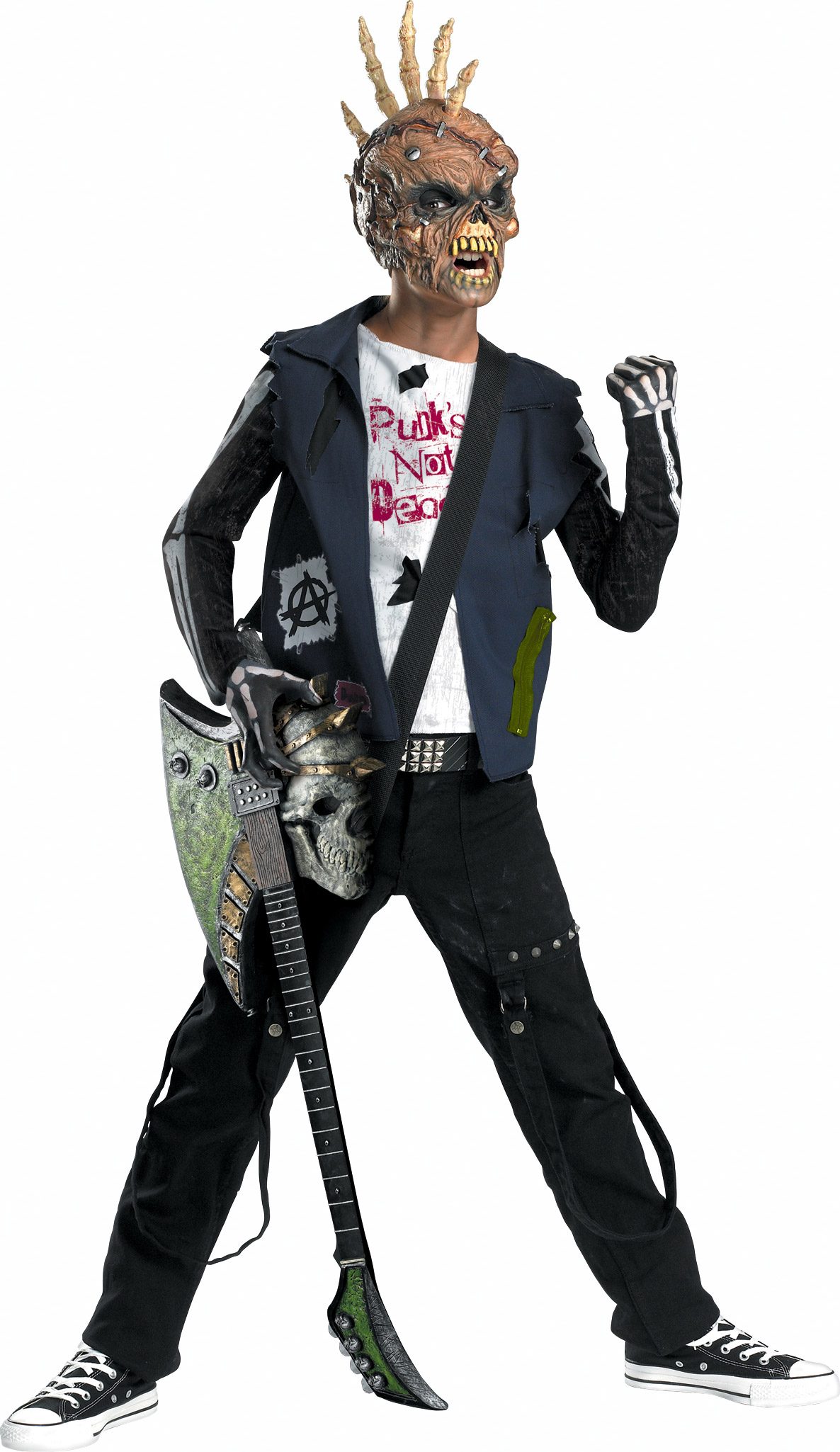 boys punk creep child halloween scary costume fancy dress party outfit