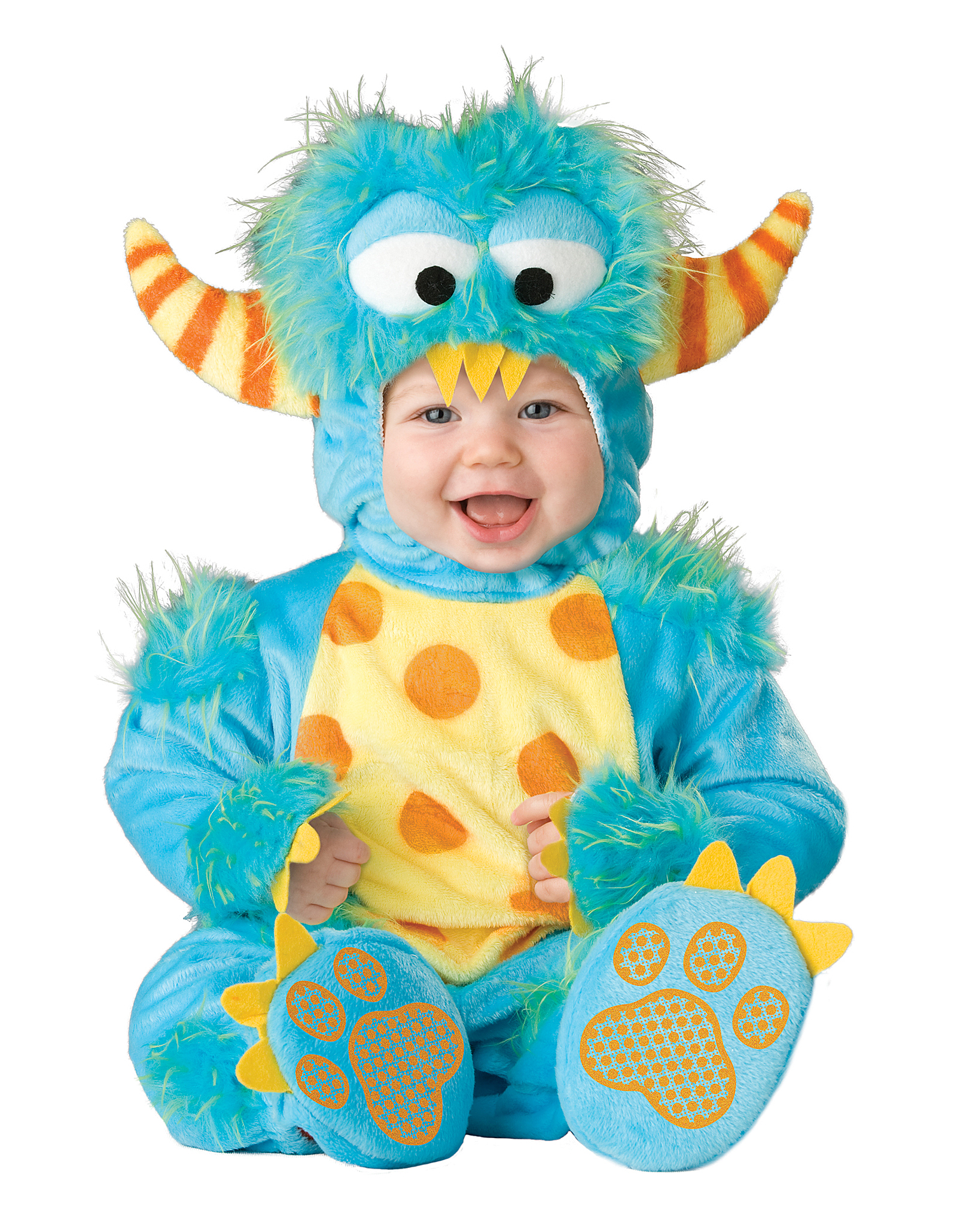 Lil Monster Infant Toddler Halloween Costume Fancy Dress Up Cute
