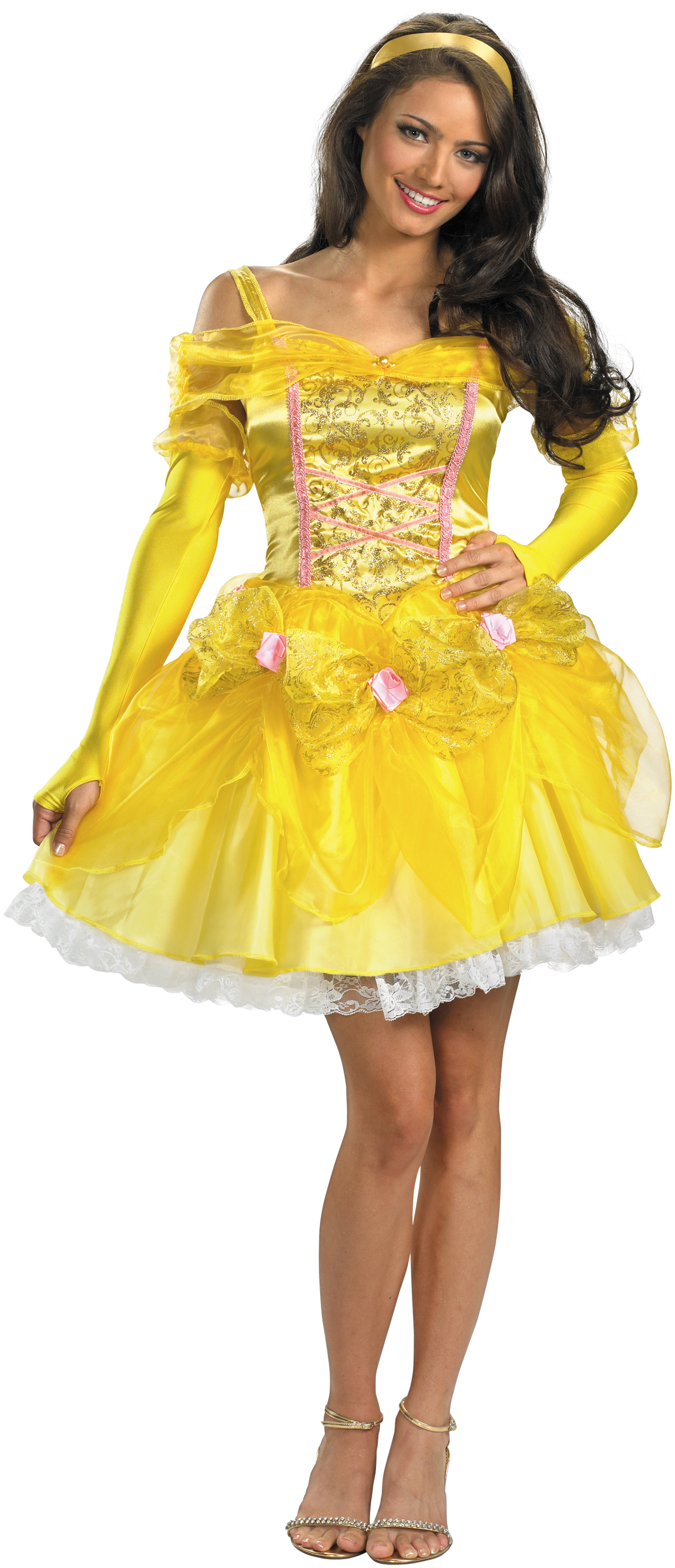 NEW Beauty And The Beast Sassy Belle Adult