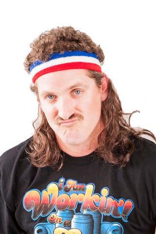 Cheap Mullet Wigs Australia 76