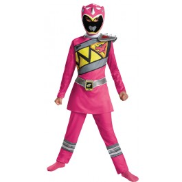 fa671de7280 Power Rangers Pink Ranger Dino Charge Classic Child Costume
