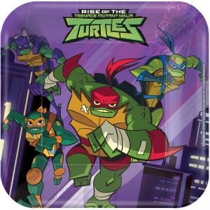 8 Amscan Rise of The TMNT Paper Masks
