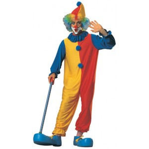 Hoopy the Clown Adult Mens Costume Standard Size NEW