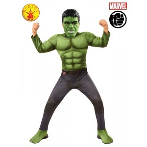 Incredible Hulk Marvel Avengers 2 Age Ultron Fancy Dress Halloween Child Costume