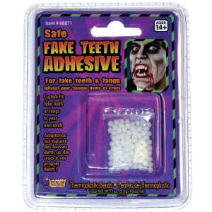 Scarecrow Small Vampire Fangs Vampire Adults Fancy Dress Halloween Costume Teeth