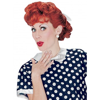 Lucille Ball I Love Lucy Curly Adult Costume Wig Red.jpg
