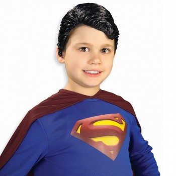 Superman Vinyl Wig Child's Costume Accessory.jpg
