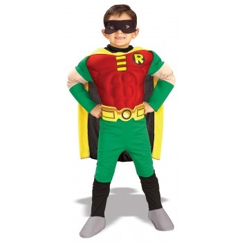 Teen Titans DC Comics Robin Muscle Chest Deluxe Toddler / Child Costume.jpg