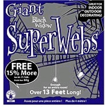 Black Spider Webbing Haunted House Halloween Decoration.jpg