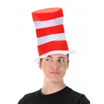 Dr Seuss Cat in The Hat Top Hat Costume Accessory.jpg