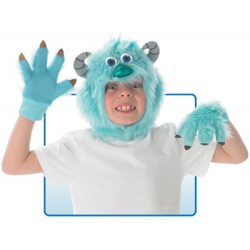 Monsters Inc. Sulley Headpiece and Gloves Child Costume Kit.jpg