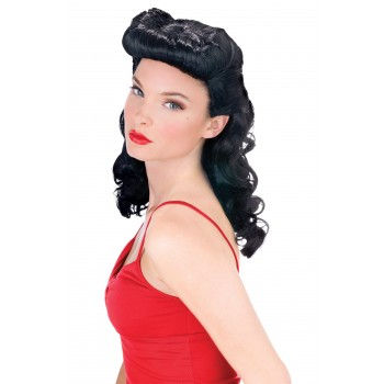 Bettie Page Burlesque Wig Women's Costume Accessory.jpg