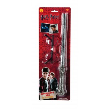 Harry Potter Accessory Kit Glasses Magic Wand Child's Costume Accessory.jpg