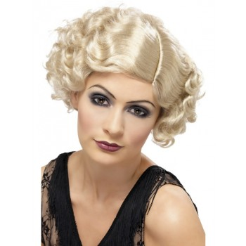 Blonde 20's Flirty Flapper Adult Wig.jpg