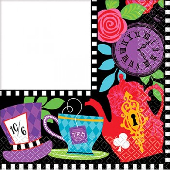 Mad Tea Party 2 Ply Beverage Napkins Pack of 16.jpg