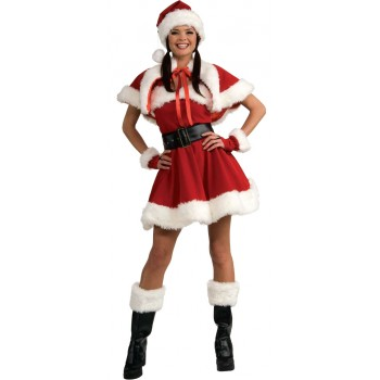 Adult Miss Santa Fancy Dress Women's Costume.jpg