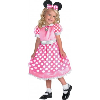 Clubhouse Minnie Mouse Pink Toddler / Child Girl's Costume.jpg