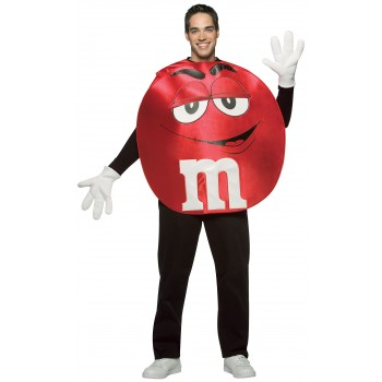 M&Ms Red Poncho Adult Costume Standard.jpg