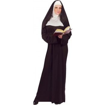 Nun Adult Women's Costume One Size.jpg