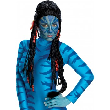 Avatar Movie - Deluxe Neytiri Adult Women's Navi Costume Wig.jpg