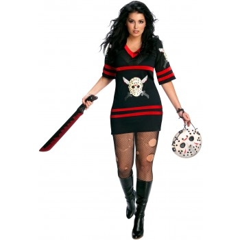 Friday The 13th - Sexy Miss Voorhees Adult Plus Costume.jpg