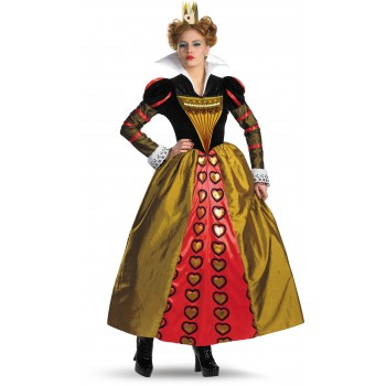 Alice In Wonderland Movie Deluxe Red Queen Adult Women's Costume.jpg