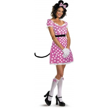 Sexy Pink Minnie Mouse Adult Women's Costume.jpg