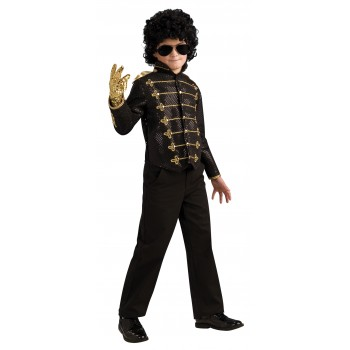 Michael Jackson Deluxe Black Military Jacket Child.jpg