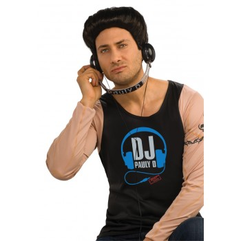 Jersey Shore Paul DJ Pauly D Adult Headphones Costume Accessory.jpg