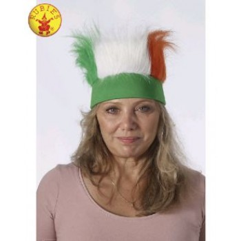 St. Patrick's Day Adult Fur Headband.jpg