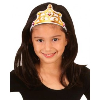 Beauty and the Beast Belle Fabric Child Tiara.jpg