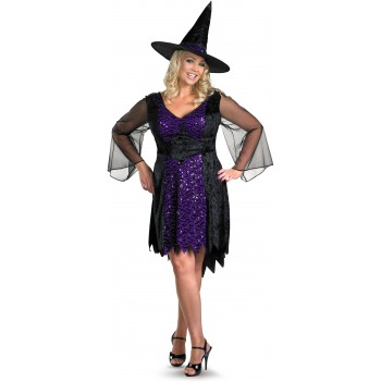 Brilliantly Bewitched Adult Plus Women's Costume.jpg