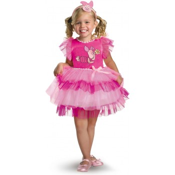 Winnie the Pooh Frilly Piglet Toddler / Child Girl's Costume.jpg