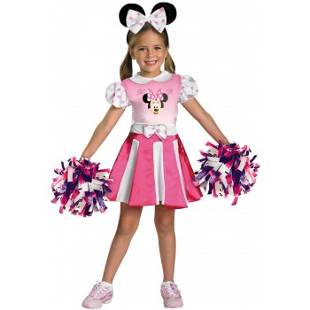 Mickey Mouse Clubhouse - Minnie Mouse Cheerleader Toddler / Child Girl's Costume.jpg