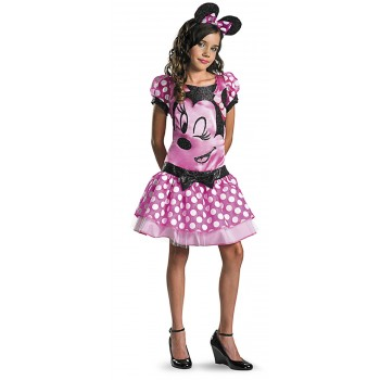 Mickey Mouse Clubhouse - Pink Minnie Mouse Tween Girl's Costume 14-16.jpg