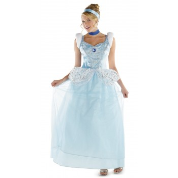 Cinderella Deluxe Adult Plus Women's Costume.jpg