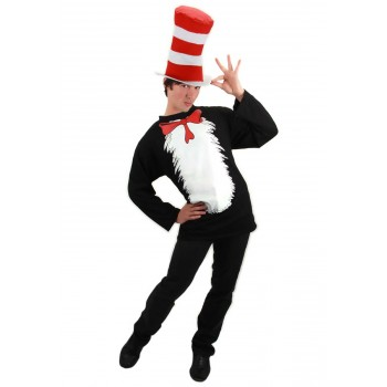 Dr. Seuss Cat in the Hat Adult Costume Kit S/M.jpg