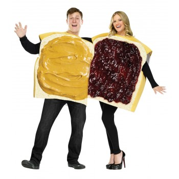 Peanut Butter and Jelly Couples Adult Costume.jpg