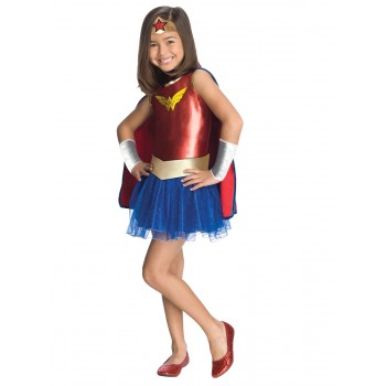 Wonder Woman Tutu Child Girl's Costume.jpg