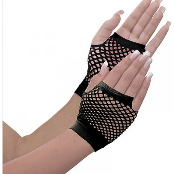 Awesome 80's Black Fishnet Adult Gloves.jpg