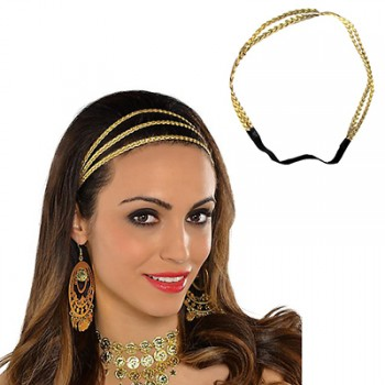 Gods & Goddesses Gold Braided Adult Headband.jpg