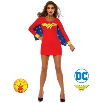 Wonder Woman Dress With Wings Adult Costume Small.jpg