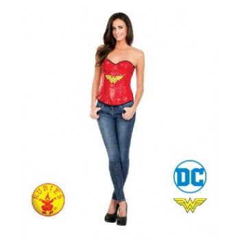 Wonder Woman Sequin Adult Corset.jpg