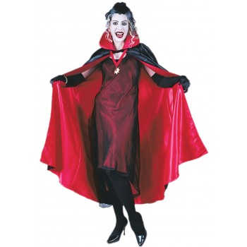 Adult Deluxe Red Vampire Cape One Size.jpg