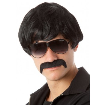70's Detective Black Mod Wig & Moustache Adult Set.jpg