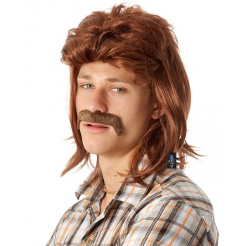 80's Brown Mullet Wig & Moustache Adult Set.jpg