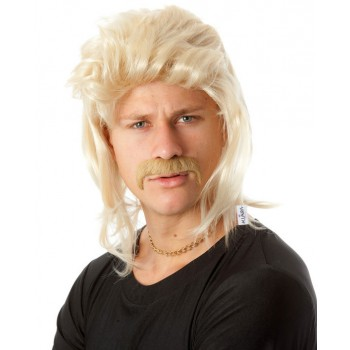 80's Blonde Mullet Wig & Moustache Adult Set.jpg